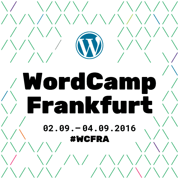 WordCamp Frankfurt 2016